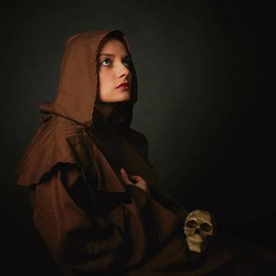 Skulls Photograph - Untitled by Alexandra Fira