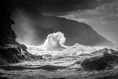Waves Photograph - Untitled by Ali Rismanchi