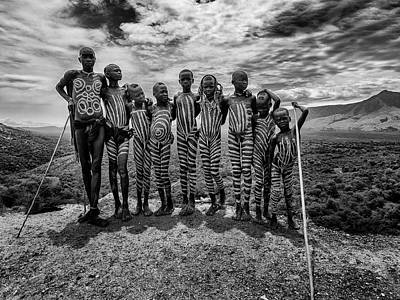 Tribe Photograph - Untitled by Amnon Eichelberg