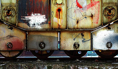 Railway Tracks Photograph - Untitled by Anna Niemiec