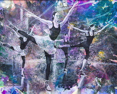 Untitled Ballet Original by Patricia Allingham Carlson