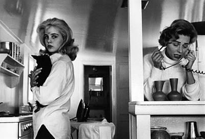 Photograph - Vogue June 1st, 1962 by Bert Stern