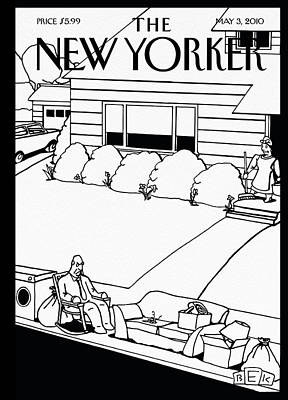 2010 Painting - New Yorker May 3rd, 2010 by Bruce Eric Kaplan