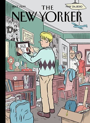 Schools Painting - New Yorker May 24th, 2010 by Dan Clowes