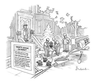 New Yorker October 17th, 2016 Art Print by David Borchart