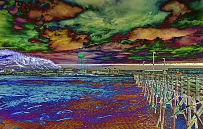 Pier Digital Art - Untitled by Betsy Knapp