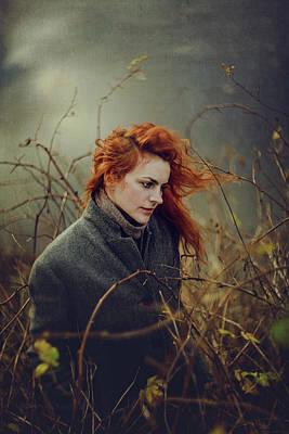 Windy Photograph - Untitled by Elena Galitskaya