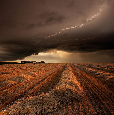 Lightning Photograph - Untitled by Franz Schumacher
