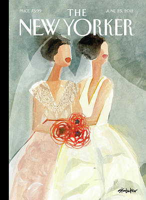 New Yorker June 25th, 2012 Art Print by Gayle Kabaker