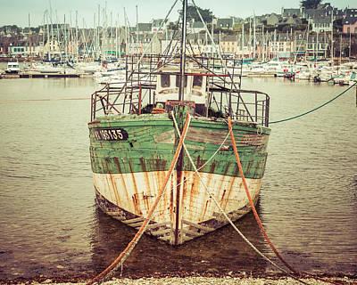 Photograph - Vintage Fishing Boat II by Joshua McDonough