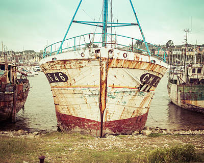 Photograph - Vintage Fishing Boat IIi by Joshua McDonough