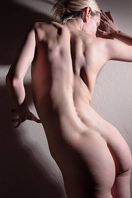 Nude Naked Female Nipple Women Breast Photograph - Untitled In Color by Joe Kozlowski