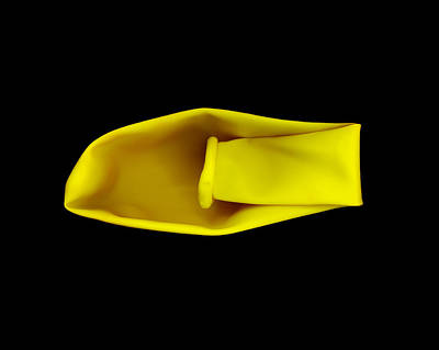 Photograph - Untitled In Yellow by Julian Cook