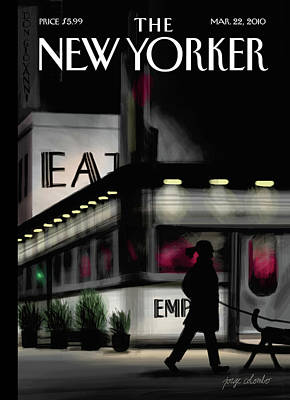 New Yorker March 22nd, 2010 Art Print