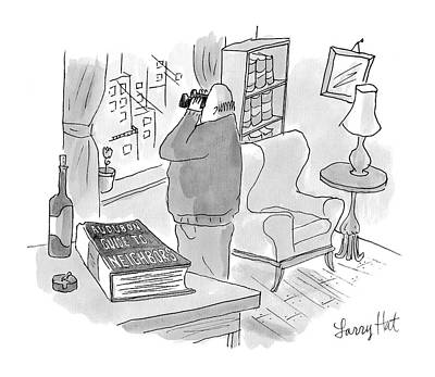 Book Title Drawing - New Yorker July 3rd, 2006 by Larry Hat
