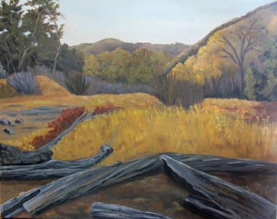 Painting - Placerita Canyon Santa Clarita Ca  by Lisa Barr