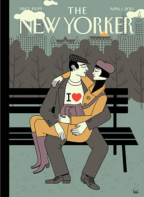 New Yorker April 1st, 2013 Art Print