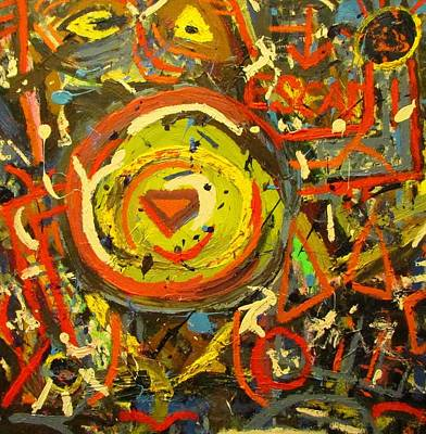 Alejandro Painting - Untitled by Luke Alejandro Carlton