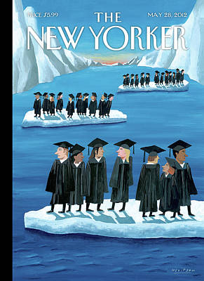 Gown Painting - New Yorker May 28th, 2012 by Mark Ulriksen