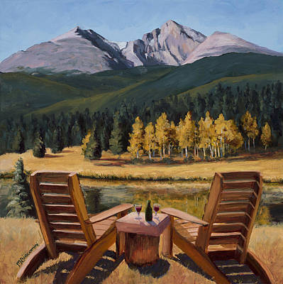 Painting - Table For Two by Mary Giacomini