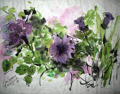 Untitled Print by Mary Spyridon Thompson