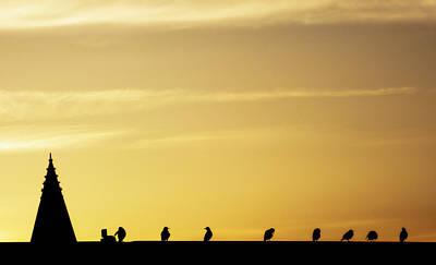 Photograph - Congregation by Mirian Hubbard