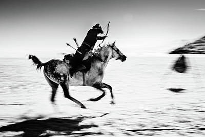 Running Horses Photograph - Untitled by Murat Yilmaz