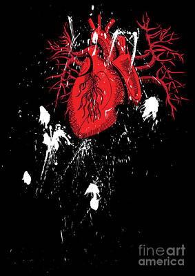 Heart Artwork Digital Art - Untitled No.22 by Caio Caldas