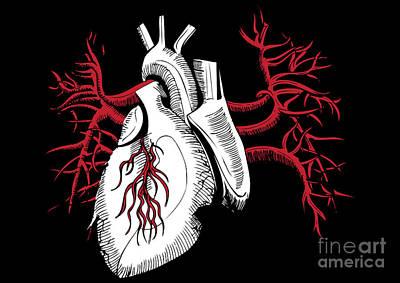 Heart Artwork Digital Art - Untitled No.23 by Caio Caldas