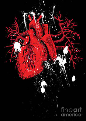 Heart Artwork Digital Art - Untitled No.24 by Caio Caldas