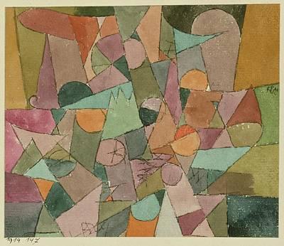 Paul Klee Drawing - Untitled by Paul Klee
