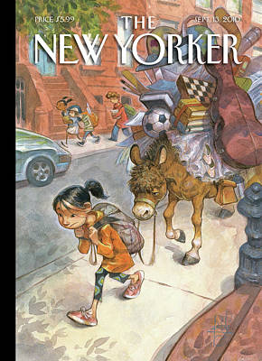 New Yorker September 13th, 2010 Art Print