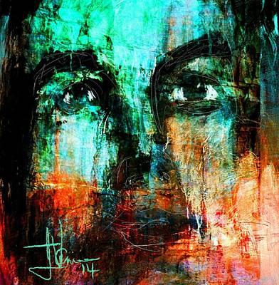 Digital Art - untitled portrait Oct 16 2014 by Jim Vance