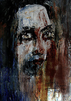 Mixed Media - Untitled Portrait Sept 18 2014 by Jim Vance