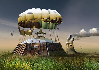 Hot Air Balloons Photograph - Untitled by Radoslav Penchev