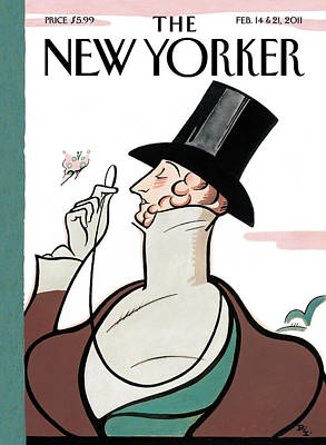 New Yorker February 14th, 2011 Art Print by Rea Irvin