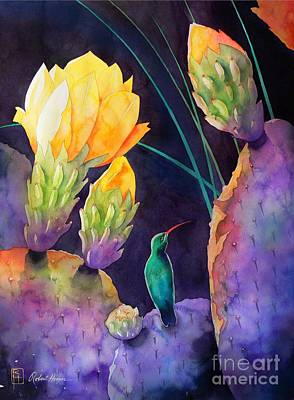 Desert Flower Painting - Untitled by Robert Hooper
