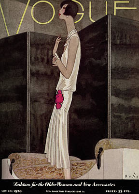 Photograph - Vogue November 10th, 1928 by William Bolin