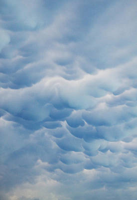 Photograph - Unusual Cloud Formation by David and Carol Kelly