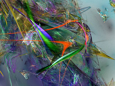 Mind Bending Digital Art - Unwelcome Unthanks by Jeff Iverson
