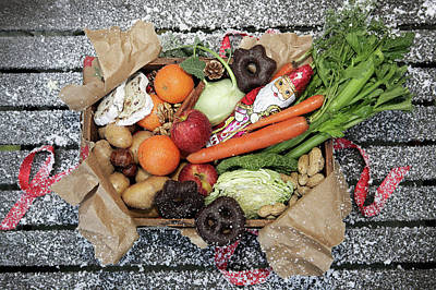 Photograph - Unwrapped Box Of Savoury And Sweet by Manuela