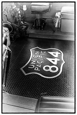 Photograph - Up 844 Floor Emblem by Bill Kesler