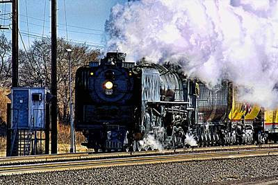 Photograph - Up 844 Movin' On by Bill Kesler