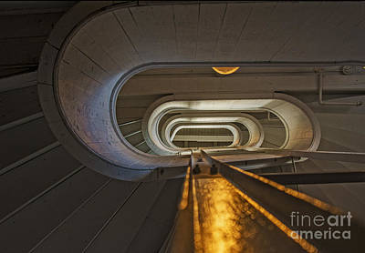 Photograph - Up A Staircase At Boote Mills by Phil Cardamone