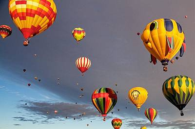 Art Print featuring the photograph Up And Away by Dave Files