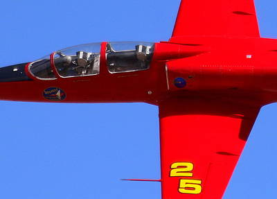 Photograph - Up Close And Violated At The Reno Air Races. N757sf.jpg by John King
