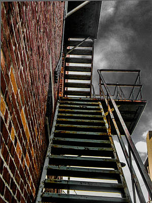Photograph - Up Fire Escape by Christy Usilton