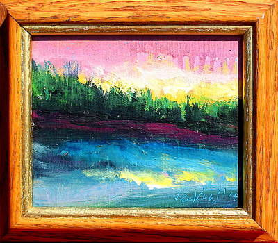 Painting - Up North by Les Leffingwell