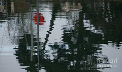 Suggestive Photograph - Up River  by Carol Weitz