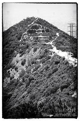 Photograph - Up Runyon Canyon by John Rizzuto